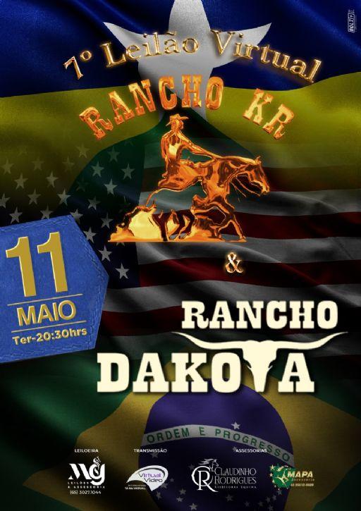 7 Leilao Virtual Rancho KR e Rancho Dakota